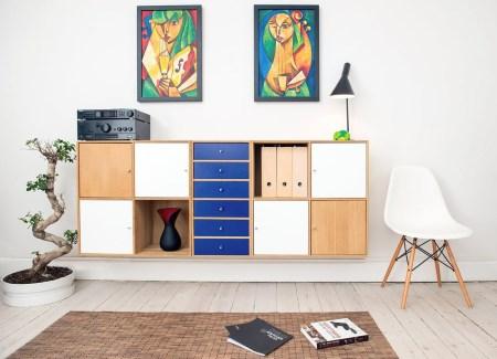 Att inreda hallen med möbler