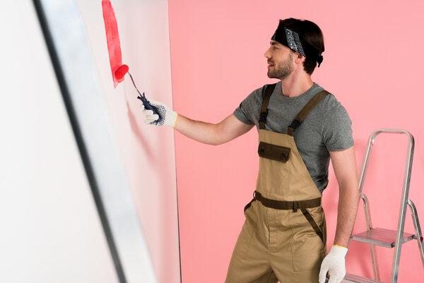 Snyggt med nymålat inomhus