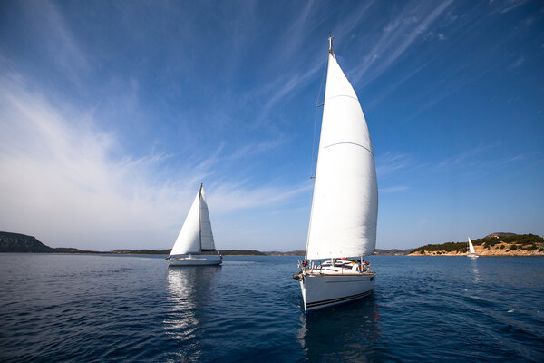 Det är härligt att segla